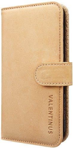 Spigen Valentinus Wallet iPhone 5S Case for iPhone 5/5S - Vintage Brown
