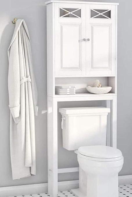 Amazon Dova Over The Toilet Cabinet Bathroom Storage Space