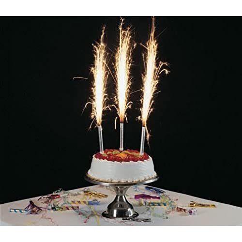 1 Pack Of 4 Pcs Birthday Wedding Bottle Cake Party Candles Smokeless Indoor Outdoor