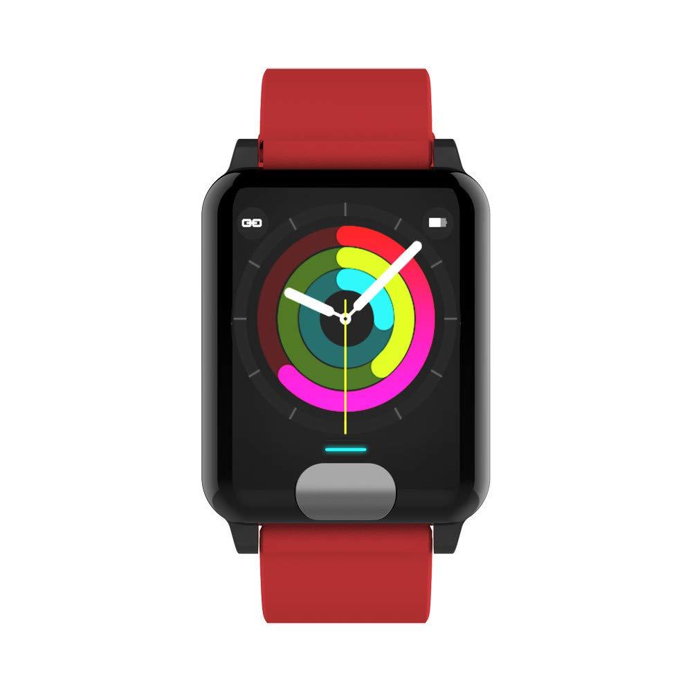 Cebbay Reloj Inteligente Pulsera de Actividad Impermeable IP67 Color Monitor de Frecuencia para iOS y Android: Amazon.es: Electrónica