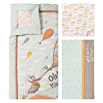 Trend-Lab-Dr-Seuss-Oh-The-Places-Youll-Go-Unisex-5Piece-Crib-Bedding-Set