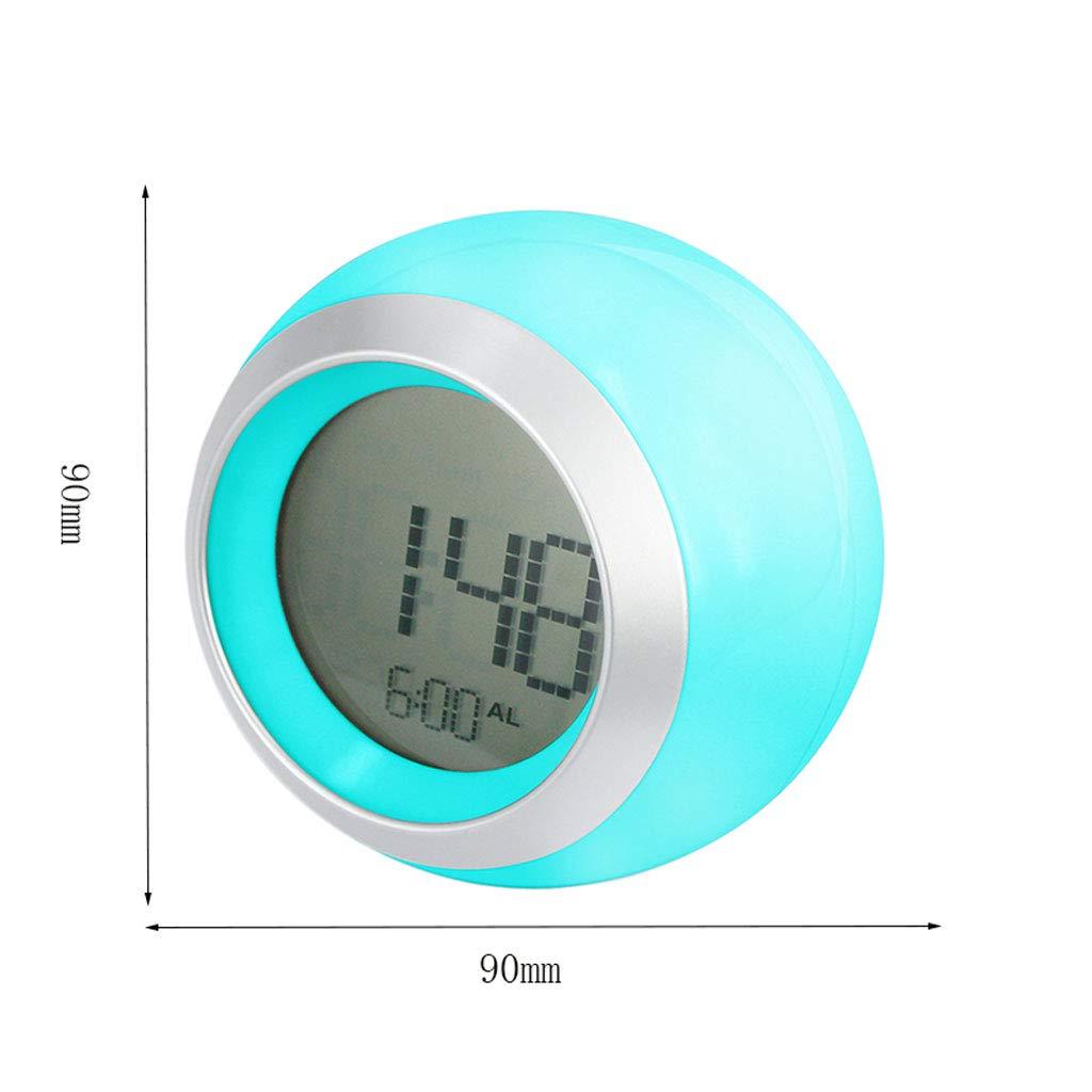 Despertador LITING_Wang Reloj niños Silencio Luminoso LED ...