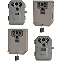 Stealth Cam P12 Infrared 6MP Trail Game Camera, 2 Pack + Security Box, 2 Pack