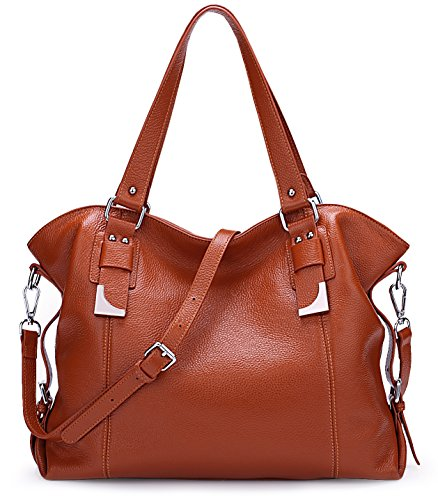 AINIMOER Purse SALE Vintage Shoulder Cross Ladies BIG Leather Womens Top Body Tote Bags handle Bag Large Sorrel Sorrel Handbags F5wq1O
