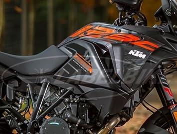 2 Pegatinas 3D de protección para el depósito lateral, compatible con KTM 1290 Super Adventure: Amazon.es: Coche y moto