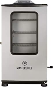 Masterbuilt MB20074719 Bluetooth Digital Electric Smoker, Stainless Steel