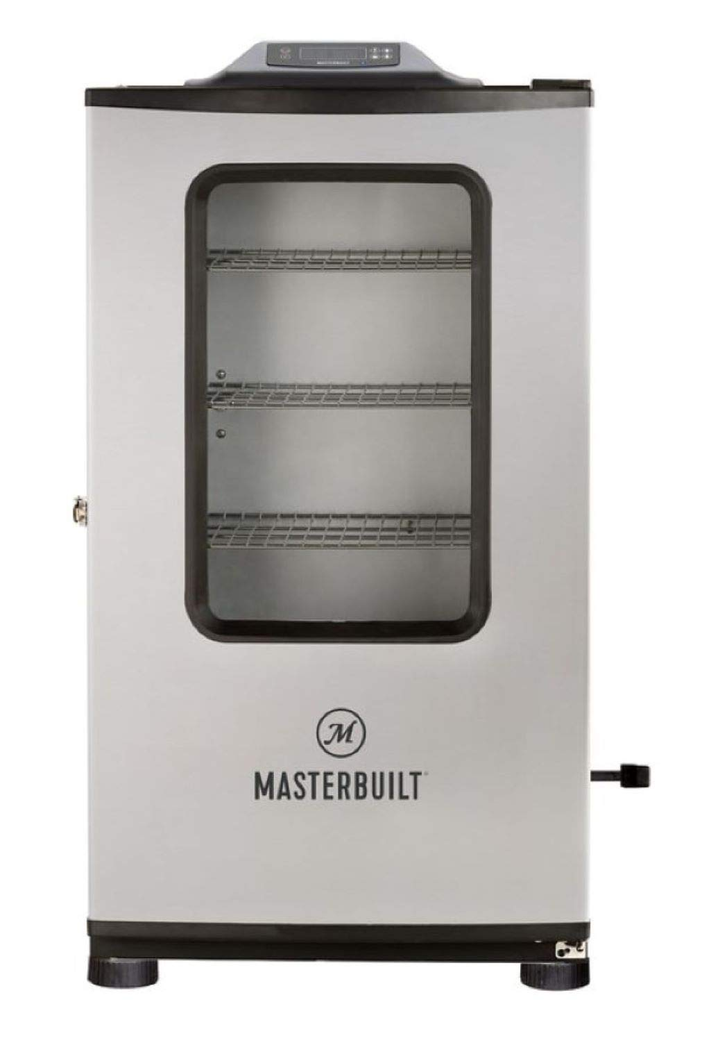Masterbuilt MB20074719 Mes 140g Bluetooth Digital Electric Smoker, 40'' Stainless + Window + BT by Masterbuilt