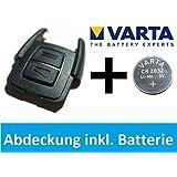 Original pour oPEL astra g/zafira a key cover boîtier vARTA pile cR2032