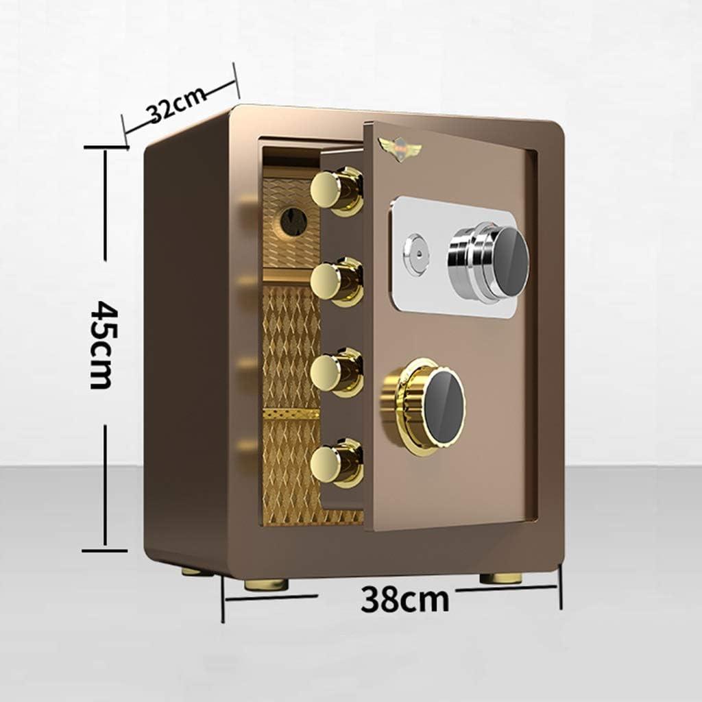 Antirrobo A Prueba De Fuego Caja De Seguridad Color : Style1, Size : 40cm//15.7 para El Hogar//La Oficina Caja De Seguridad Invisible Montada En La Pared Caja fuerte Cajas Fuertes Mec/ánicas