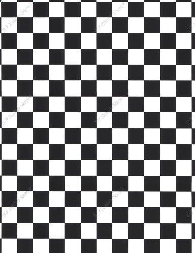 black and white checkered wallpaper 1 1 4 inch checks amazon co uk