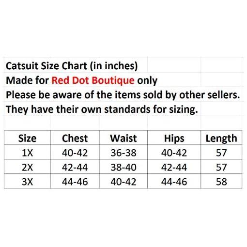 Red Dot Boutique 566 Plus Size Spandex Wetlook Bodysuit Catsuit Jumpsuit Costume Black