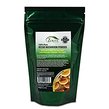 Reishi Mushroom Powder 8oz - 100% Pure Premium Quality