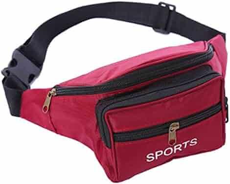 JAGENIE Utility Cycling Waist Fanny Pack Belt Bag Travel Hip Purse Outdoor  Sports Bags f25ea2f8cf6ce