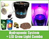 Hydroponic System LED Combo – Complete Grow System – DWC Hydroponic Kit