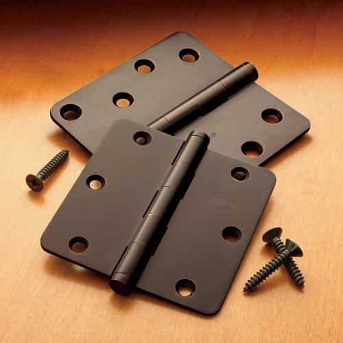 Baldwin 1035190ITIP Button Tip Hinge Black