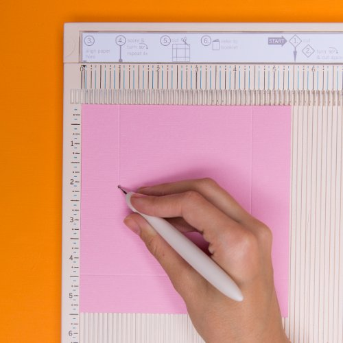 martha stewart crafts deluxe scoring board with paper trimmer. Black Bedroom Furniture Sets. Home Design Ideas