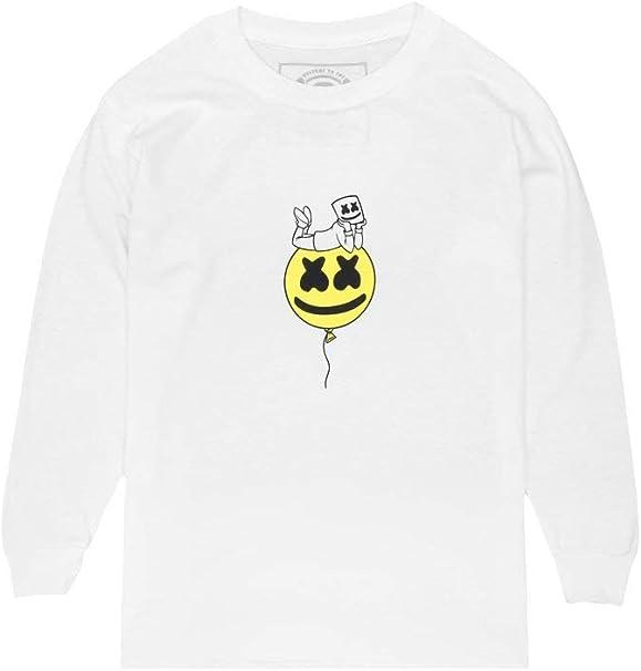 - Youth Sizing Marshmello Authentic Merchandise Youth Smile T-Shirt