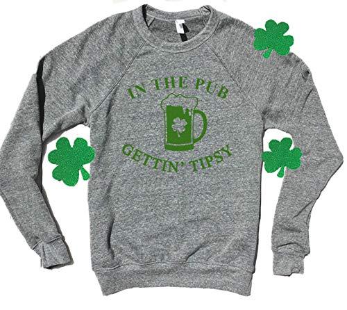 Pub Crawl, Super Soft and Cozy, Cute St Patricks Day Sweatshirt, St Patricks Sweatshirts for Women, St Patricks Day Sweaters for Women, Drinking Shirts, St Pattys, St Paddys, Cute St Patricks Outfit ()