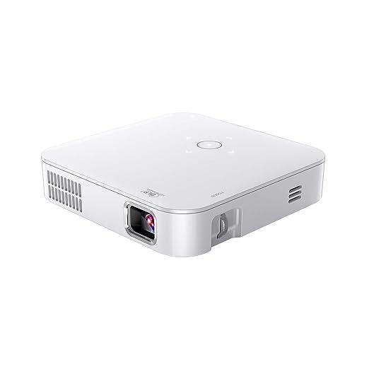 ZSLD Pico Portátil Mini Proyector, Batería Recargable De Alta ...