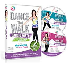 DANCE That WALK - CARDIO PARTY - Low Impact Walking Workout Pack with Two Easy 5000 Step DVDs