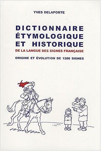 Dictionnaire étymologique historique