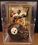 Pittsburgh Steelers NFL Helmet Shadowbox w/ Jerome Bettis card