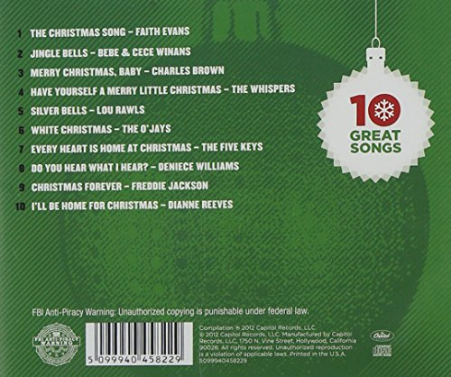 10 great r b christmas songs 10 great rb christmas songs amazoncom music - Best Rb Christmas Songs