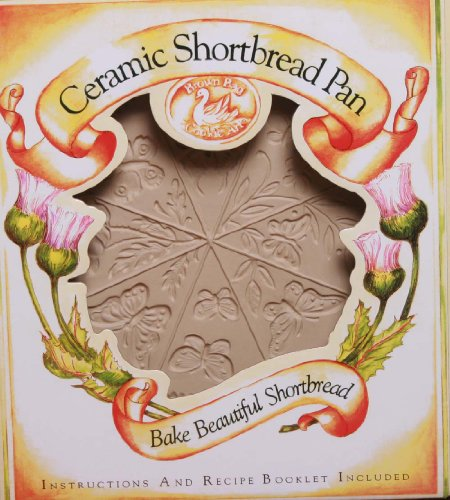 Brown Bag Design Butterfly Shortbread Cookie Pan, 11-1/2-Inch by ()