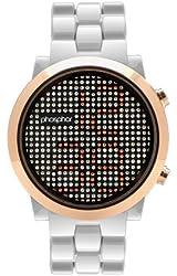 Phosphor Women's MD009L Swarovski Mechanical Digital Watch