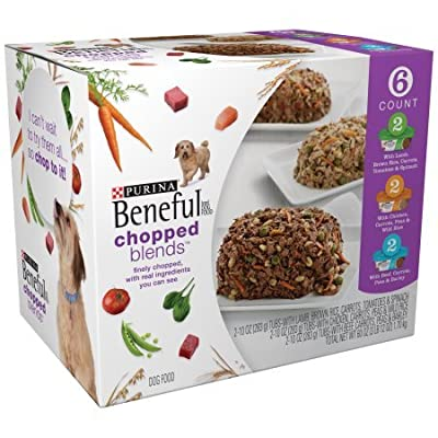 Purina Beneful Chopped Blends Variety Pack Dog Food 6-10 oz. Tubs