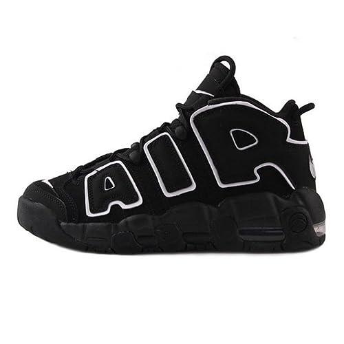 278a966c94244 Air More Uptempo 96 OG Zapatillas de Running Zapatos Deportivos Unisex  Adulto Hombre Mujer Negro  Amazon.es  Zapatos y complementos