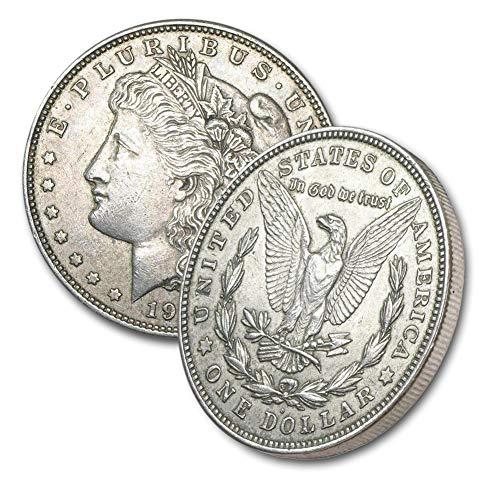1921 D Morgan Silver Dollar $1 Brilliant Uncirculated