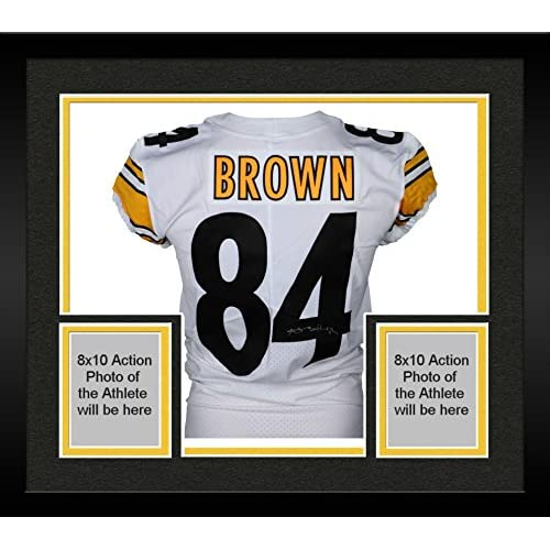 new style d0d76 f5ea7 Framed Antonio Brown Pittsburgh Steelers Autographed 2017 ...