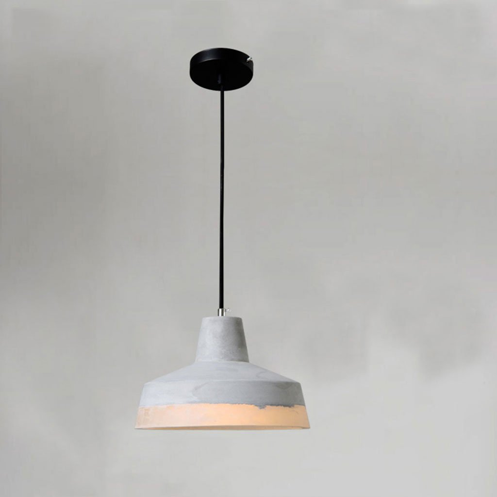 ZYANZ- Industrial Wind Chandelier (E27 Lighting Interface) Creative Personality Retro Cement Lamp Restaurant Bar Lamp