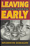 Leaving Early Suicide Book, Bronwyn Donaghy, 0732257816