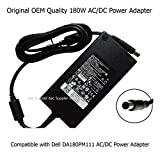 itec Original Genuine Quality OEM 180W AC DC Power Adapter Power Supply Charger for Dell Gaming Laptop Alienware 14 and Alienware 15 R3 AW15R3 AW15R3 Series 15.6'' Computer