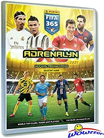 1 X Premium Display Panini Adrenalyn XL fifa 365 2021 1 X gold Booster