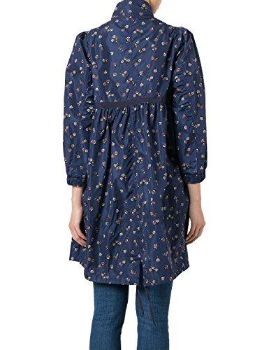 Moncler Femme 496105553999778 Bleu Polyamide Blouson