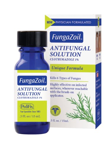 Clotrimazole Solution - FungaZoil Antifungal Solution-0.5 fl. oz. bottle