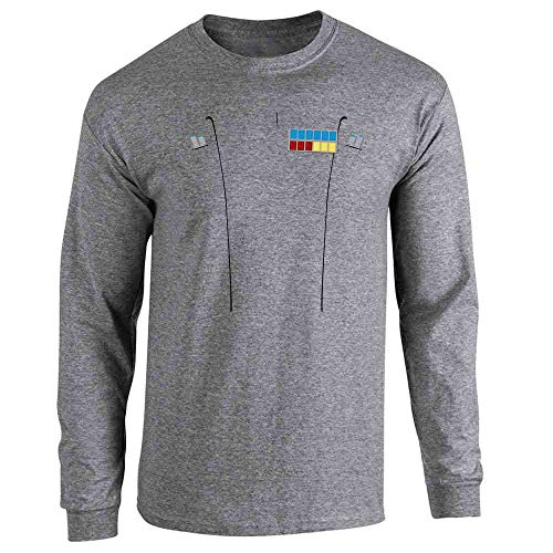 Imperial Scum Costume Halloween Funny Graphite Heather L Long Sleeve -