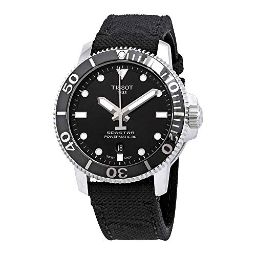 Tissot Seastar 1000 Automatic Black Dial Men