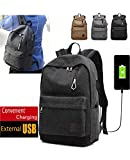 Hoperay A-001 Men Canvas College Student School Bags - Best Reviews Guide