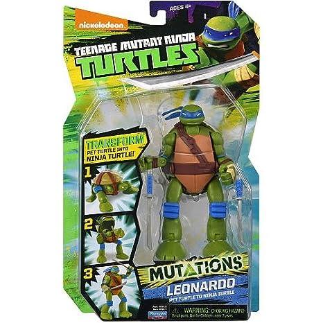 TURTLES ĹťĂlĹ'wie Ninja figurka Deluxe Leo [FIGURKA]: Amazon ...