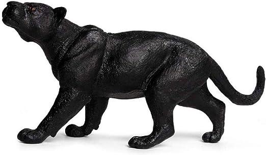 Esculturas y estatuas de jardín Modelo de escultura de pantera negra coleccionable estatua de jardín al