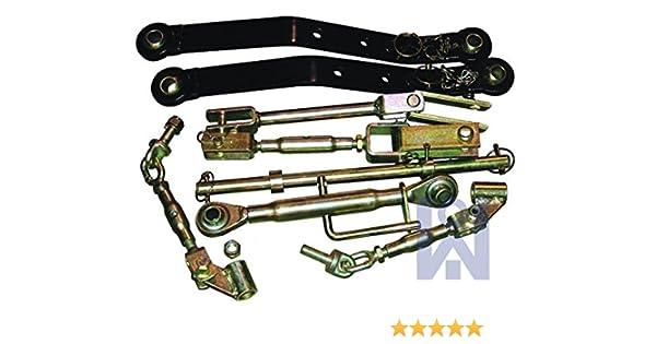 Kit de mecanismo de elevación Iseki, enganche de tres puntos, para tractor utilitario: Amazon.es: Bricolaje y herramientas