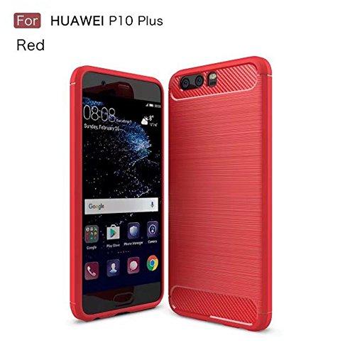 Funda HUAWEI P10,Manyip Alta Calidad Ultra Slim Anti-Rasguño y Resistente Huellas Dactilares Totalmente Protectora Caso de Cover Case Material de fibra de carbono TPU Adecuado para el HUAWEI P10 B