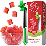 Watermelon Windmill Cutter - Slice a Watermelon in Seconds, 304 Stainless Steel Fruit Slicer Knife - Kitchen Gadgets Tools