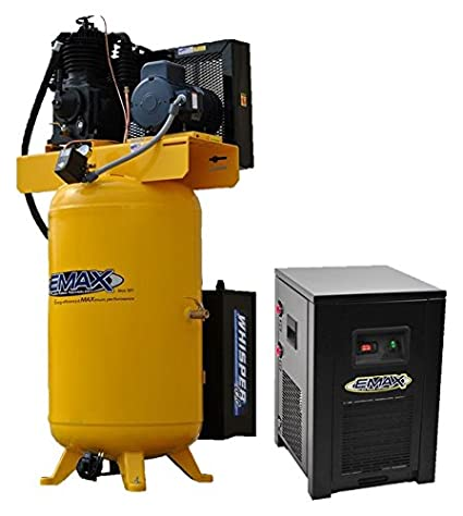 5 HP Quiet Air Compressor Package, 1-Phase, 2-Stage, 80