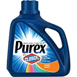 Purex Liquid Laundry Detergent plus Clorox2 Stain Fighting Enzymes, Sunny Linen, 128 oz (71 loads)