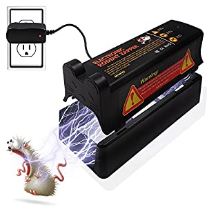 Electronic Rat Trap(Safe,Clean,Humane)Rodent Trap to Get Rid of Rats,Disease-carrying Rodents without Blood and Mess Free,Best Pest Control